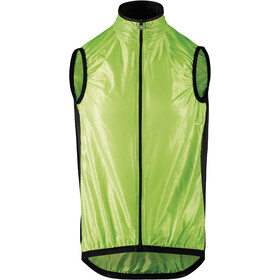 assos Mille GT Gilet sans manches coupe-vent Homme, visibility green
